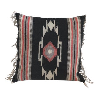 Navajo Style Textile Pillow For Sale