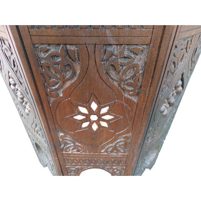 Syrian Boho Chic Side Table - Image 3 of 3
