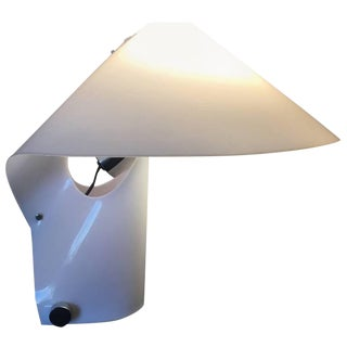 Japanese Acrylic Origami Table Lamp For Sale