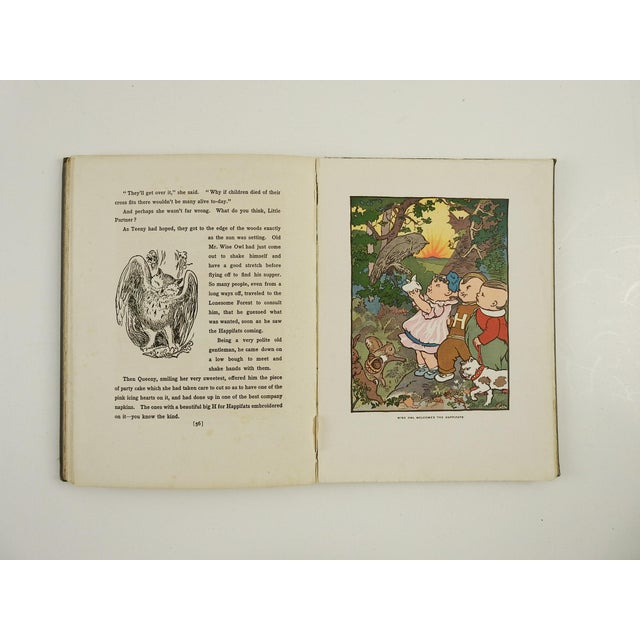"""Happifats & the Grouch"" 1917 Book For Sale - Image 4 of 7"