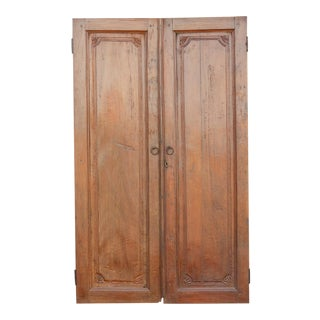Colonial Balinese Teak Doors For Sale