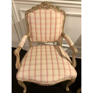 Late 20th Century French Provincial Style Armchairs- A Pair Preview