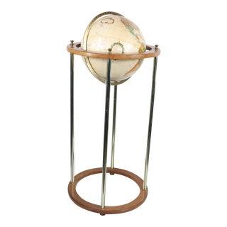 Vintage Mid Century Modern Replogle World Classic Series Globe For Sale