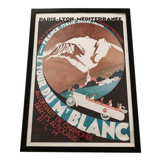 """""""Le Tour Du Mt Blanc"""" Promotional Travel Poster"""