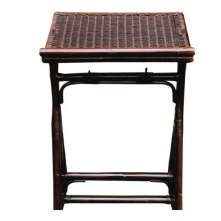 Rare Vintage Wicker Church Pulpit Book Music Stand Holder For Sale