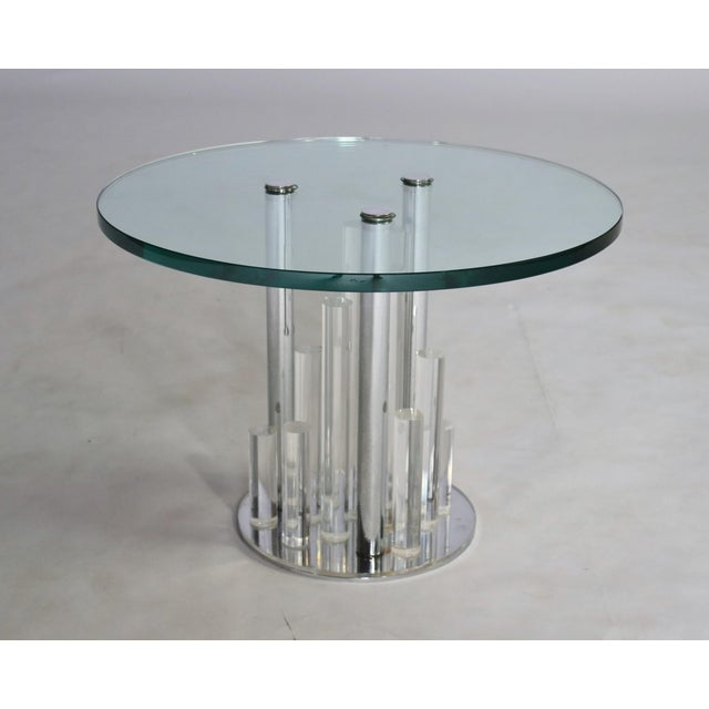 """Loretta"" Table by Charles Hollis Jones For Sale In Chicago - Image 6 of 6"