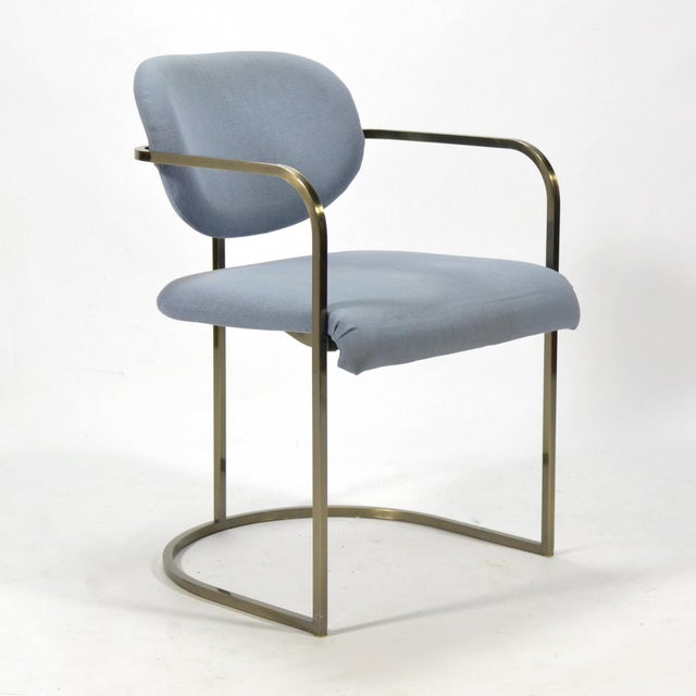 Mid-Century Modern Set of Four Armchairs by Design Institute of America For Sale - Image 3 of 10