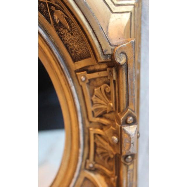 Antique Renaissance Revival Gilt Wood Mirror - Image 6 of 8