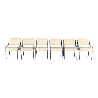 Mid-Century Modern Style Pierre Cardin for Dillingham Chairs- Set of 6 For Sale