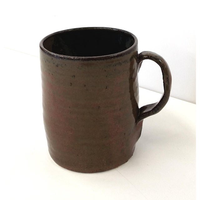 Gorgeous colors like the desert at sunset, This fairly heavy mug will look great in your rustic or industrial bathroom. A...