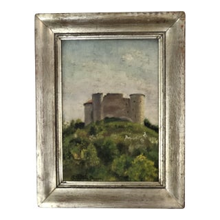 Small European Castle Painting