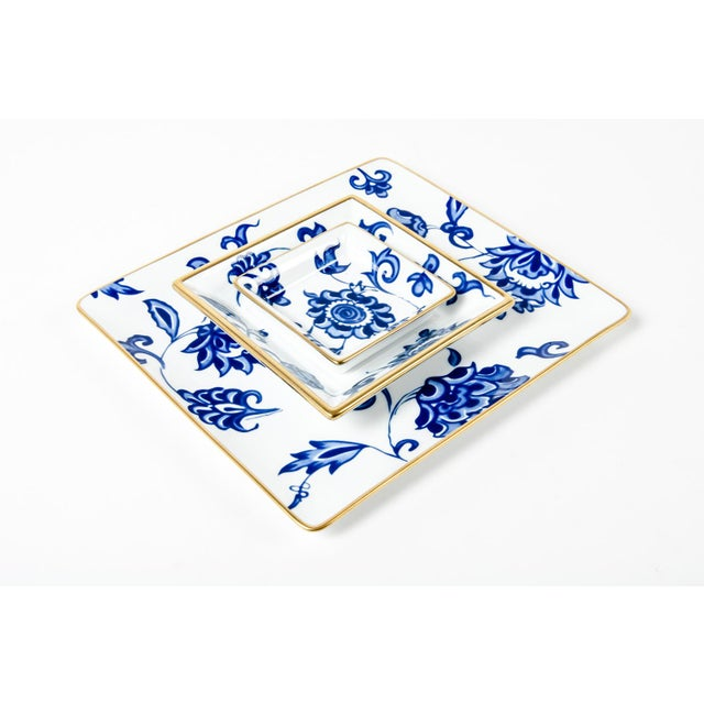 Mid 20th Century Vintage French Porcelain Decorative Catch All Trays - Set of 3 For Sale - Image 5 of 5