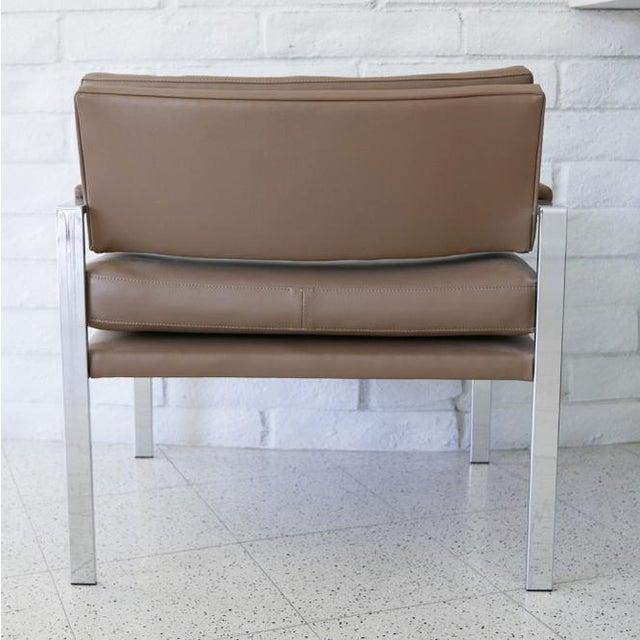 Milo Baughman for Thayer Coggin Milo Baughman for Thayer Coggin Lounge Chairs - Pair For Sale - Image 4 of 7