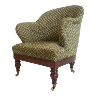 Howard and Sons Style Club Chair For Sale