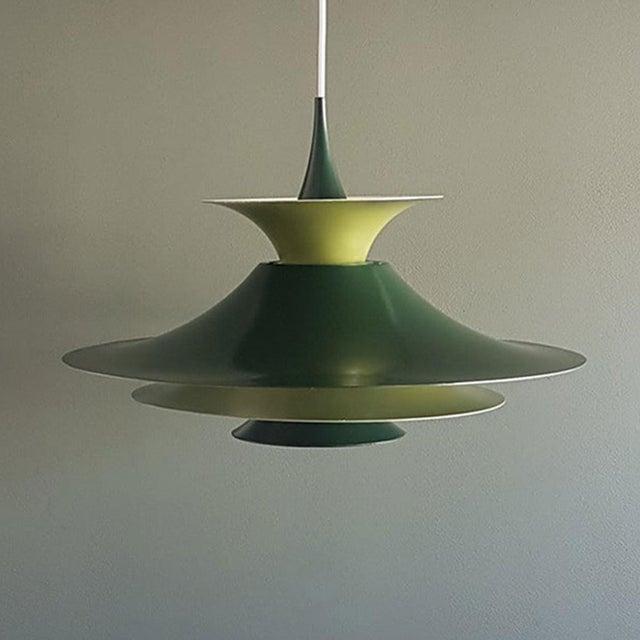 1960s Danish Mid-Century Modern Radius 1 Pendant Lamp by Erik Balslev for Fog & Mørup For Sale - Image 5 of 11