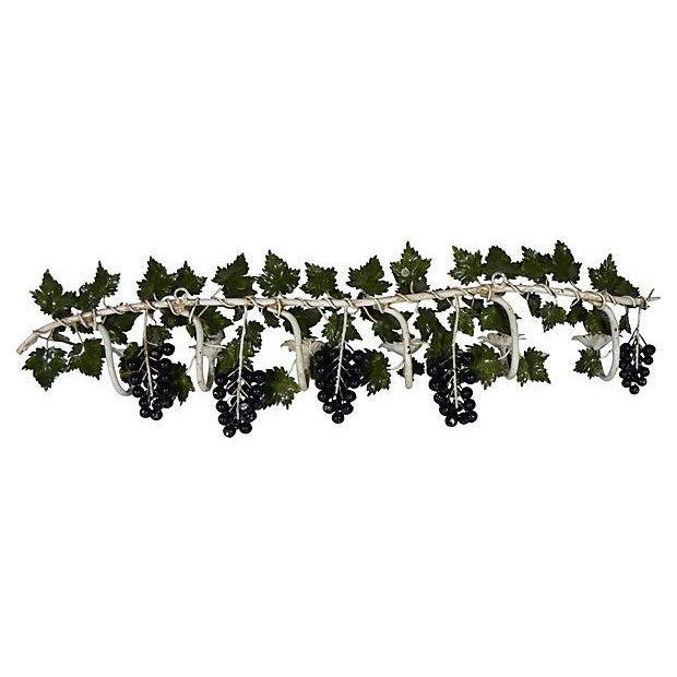 Italian Toleware Grape Candelabrum - Image 5 of 5