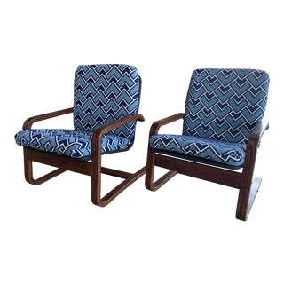 Westnofa Style Boho Chairs- A Pair For Sale