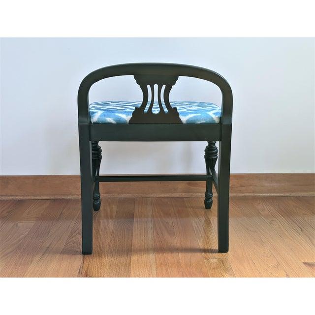 Vintage Art Deco Vanity Bench For Sale - Image 4 of 10
