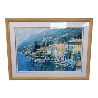 """Lugano"" Artwork by Howard Behrens For Sale"