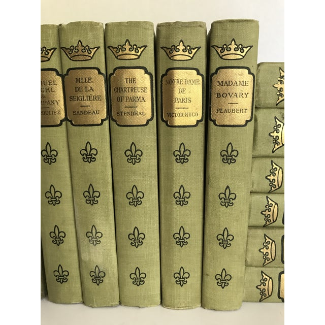 English 1902 French Romance Set of 13 Classic Books For Sale - Image 3 of 8