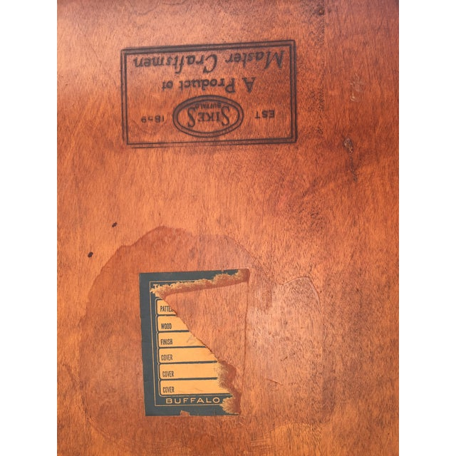 Wood Sikes Arts and Crafts Maple Rocking Chair For Sale - Image 7 of 11