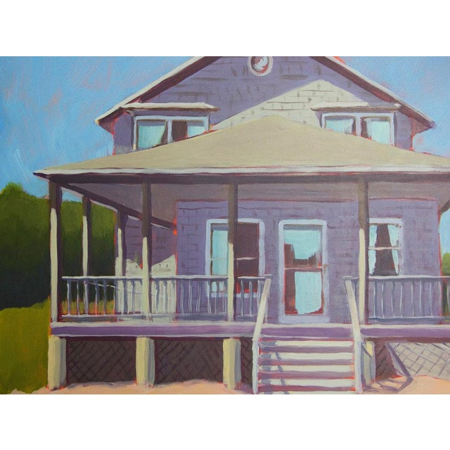 Contemporary Carol C Young, Cottage for Rent, 2017 For Sale - Image 3 of 5