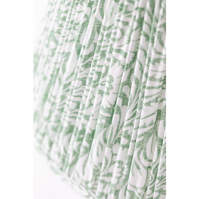 "Fern in Moss 10"" Lamp Shade, Green For Sale - Image 4 of 6"