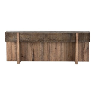 Erdos + Ko Home Bas Rustic Oak Console Table For Sale