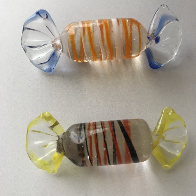 Vintage Murano Glass Candies-Set of 13 For Sale In Los Angeles - Image 6 of 10