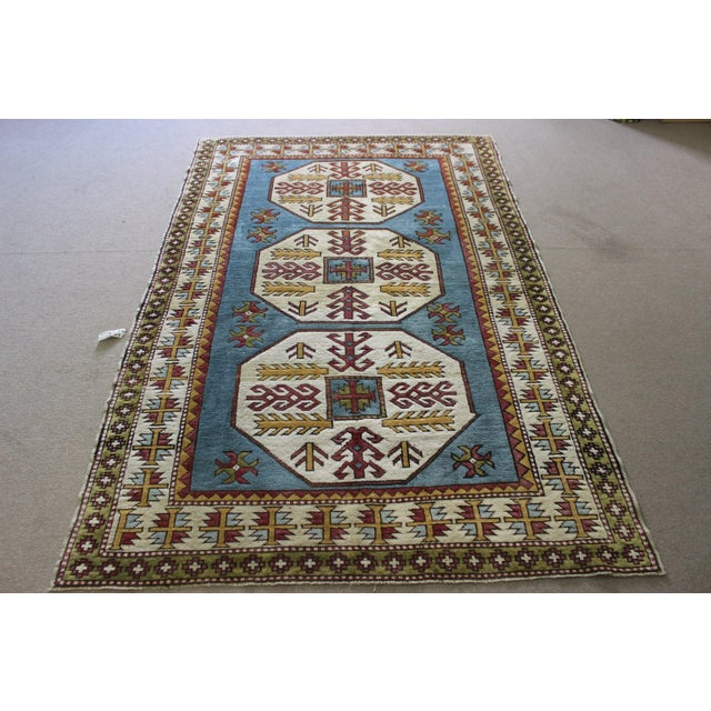 "Turkish Anatolian Area Rug - 5'2"" X 8'1"" - Image 2 of 7"
