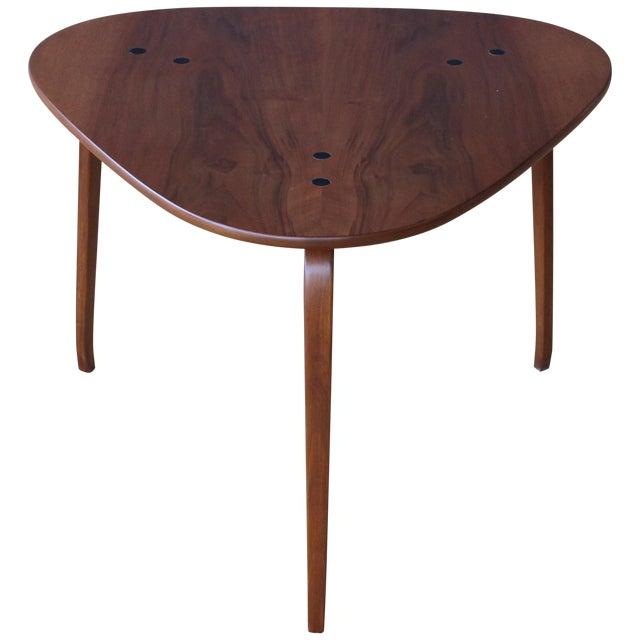 "Yngve Ekstrom ""Krok"" Teak Side Table, Sweden, 1950s For Sale"