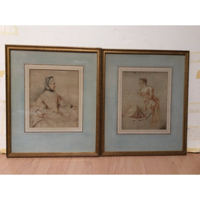 Decorative Prints of Old Master Drawings - A Pair - Image 8 of 8