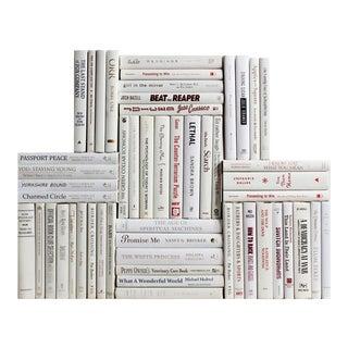 Modern White Book Wall, S/50