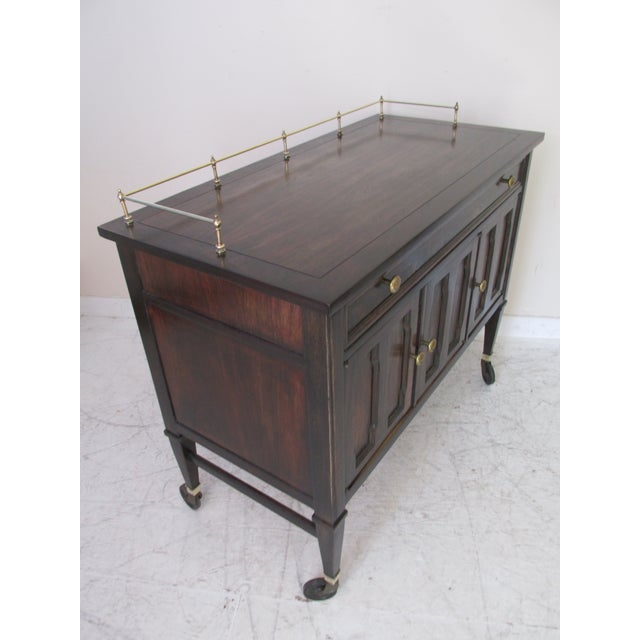 Drexel Mid-Century Serving Cart - Image 3 of 10