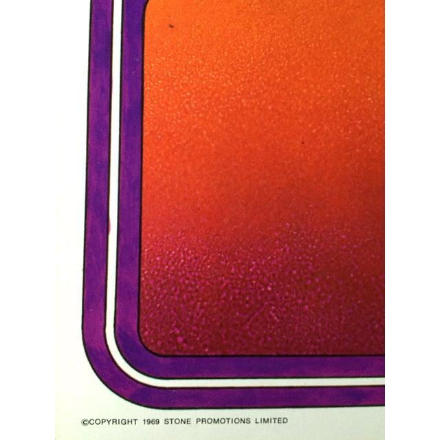 Rolling Stones 1969 Tour Original Vintage Poster - Image 5 of 5