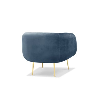 Channeled Side Chair in Dust Blue Preview
