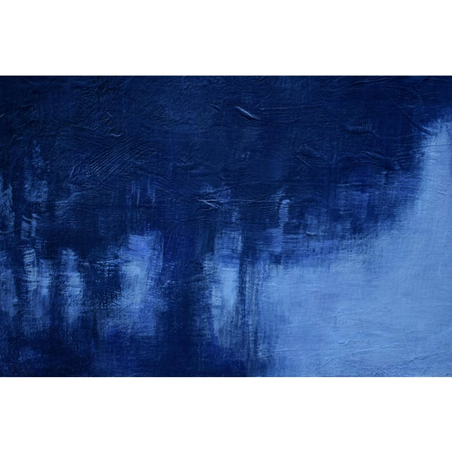 """2010s Stephen Remick """"Snowy Intersection at Dawn"""" Small Contemporary Painting For Sale - Image 5 of 12"""