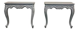 Image of Greige Console Tables