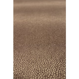 Grey Shagreen Print Luxury Fabric For Sale