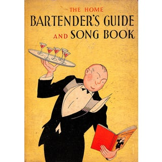 The Home Bartender's Guide and Song Book For Sale