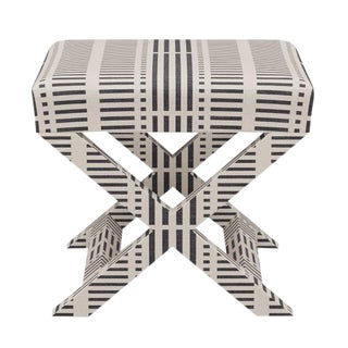 X Bench in Ink Blocks For Sale