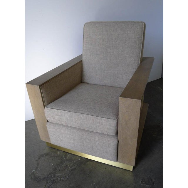 Paul Marra Max Modern Club Chair by Paul Marra For Sale - Image 4 of 12