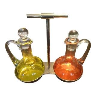 Alessi Classic Oil & Vinegar Dressing Cruet Set