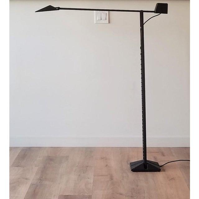 1980s Artup Crane Floor Lamp For Sale - Image 13 of 13
