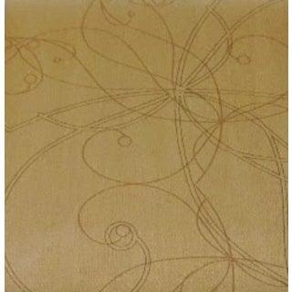 J Josephson Neutral Organic Floral Wallpaper For Sale