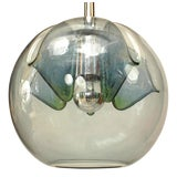 Image of Italian Venetian Murano Mirrored Glass Lantern For Sale
