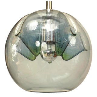 Italian Venetian Murano Mirrored Glass Lantern For Sale
