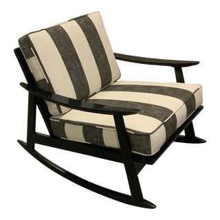 1960s Scandinavian Rocking Chair For Sale
