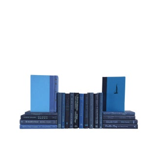 "Modern ""Forever Blue"" : Set of Twenty Decorative Books"