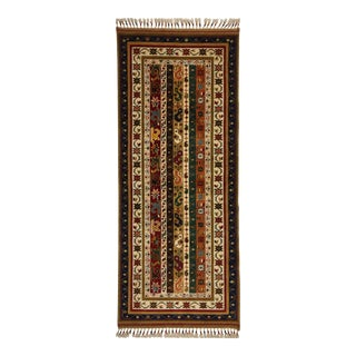 "Traditional Floral Shawl Designed Runner Rug - 2'5"" X 5'9"" For Sale"